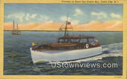 Great Egg Harbor Bay - Ocean City, New Jersey NJ Postcard