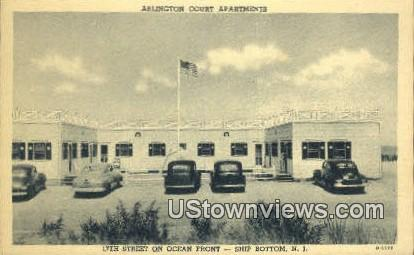 Arlington Court Apartments - Trenton, New Jersey NJ Postcard