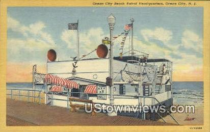 Ocean City Beach Patrol Headquarters - New Jersey NJ Postcard