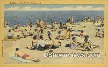 Ocean Grove, NJ     ;     Ocean Grove, New Jersey Postcard