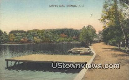 Cooks Lake - Denville, New Jersey NJ Postcard