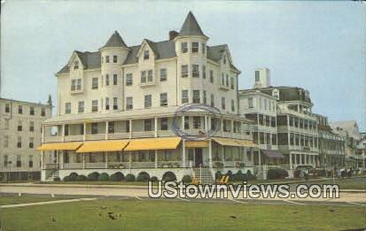 Majestic Hotel - Ocean Grove, New Jersey NJ Postcard