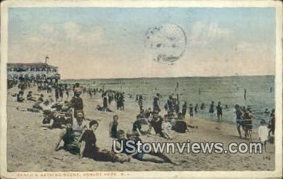 Asbury Park, NJ     ;     Asbury Park, New Jersey Postcard