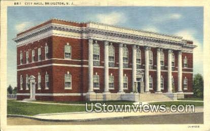 City Hall - Bridgeton, New Jersey NJ Postcard