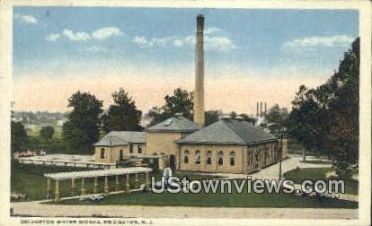 Bridgeton Water Works - New Jersey NJ Postcard