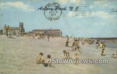 Asbury Park, New Jersey     ;     Asbury Park, NJ Postcard