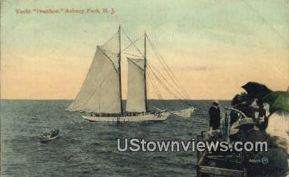 Yacht Ivanhoe - Asbury Park, New Jersey NJ Postcard