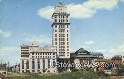 Union County Courthouse - Elizabeth, New Jersey NJ Postcard