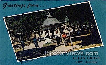 Beersheba Well - Ocean Grove, New Jersey NJ Postcard