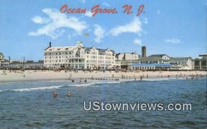 North End Hotel - Ocean Grove, New Jersey NJ Postcard