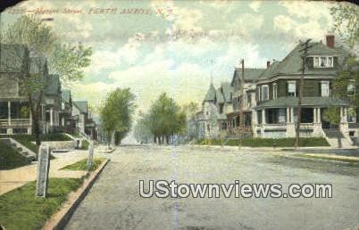 Market Street - Perth Amboy, New Jersey NJ Postcard