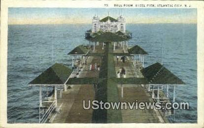 Ball Room, Steel Pier - Atlantic City, New Jersey NJ Postcard