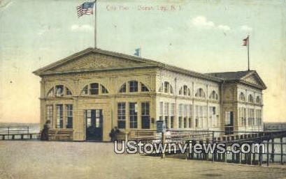 City Pier - Ocean City, New Jersey NJ Postcard