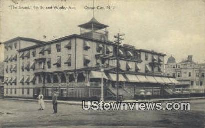 Strand 9th & Wesley Ave - Ocean City, New Jersey NJ Postcard