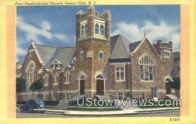 First Presbyterian Church - Ocean City, New Jersey NJ Postcard