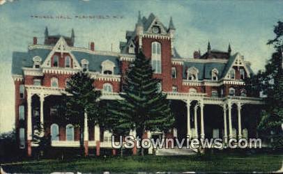 Truell Hall - Plainfield, New Jersey NJ Postcard