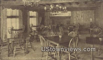 Dutch Kitchen, Princeton Inn - New Jersey NJ Postcard