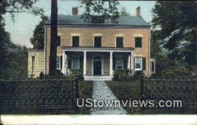 Princeton, New Jersey     ;     Princeton, NJ Postcard