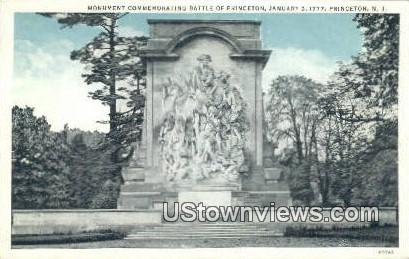 Battle of Princeton, Jan 3, 1777 - New Jersey NJ Postcard
