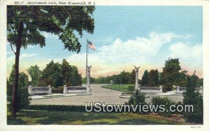 Bucculeuch Park - New Brunswick, New Jersey NJ Postcard