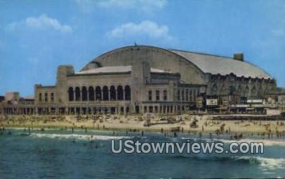 Convention Hall - Atlantic City, New Jersey NJ Postcard