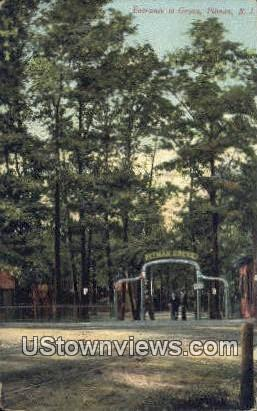Entrance to Grove - Pitman, New Jersey NJ Postcard