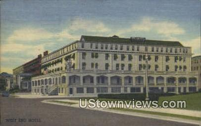 West End Hotel - Asbury Park, New Jersey NJ Postcard