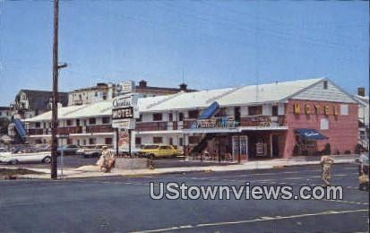 New Asbury Charline Motel - Asbury Park, New Jersey NJ Postcard