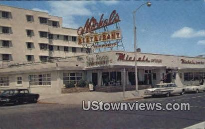 Michals Sea Food Restaurant - Asbury Park, New Jersey NJ Postcard