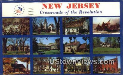 Crossraods of the Revolution - Trenton, New Jersey NJ Postcard