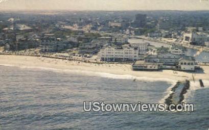Water's Edge, North End Hotel - Ocean Grove, New Jersey NJ Postcard