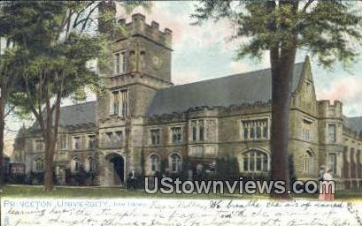 Library, Princeton University - New Jersey NJ Postcard