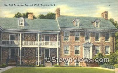 Old Barracks, 1758 - Trenton, New Jersey NJ Postcard