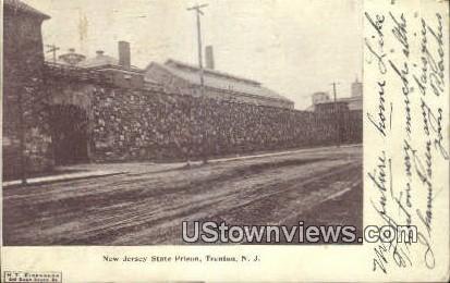 New Jersey State Prison - Trenton Postcard