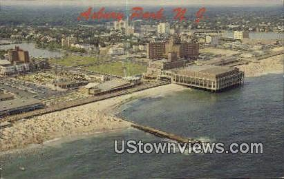 Convention Hall - Asbury Park, New Jersey NJ Postcard