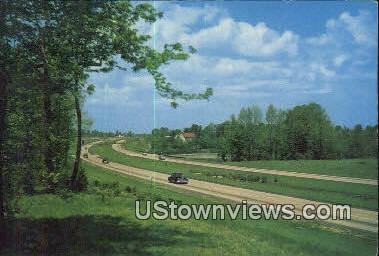 Garden State Parkway - New Jersey Coast Postcards, New Jersey NJ Postcard