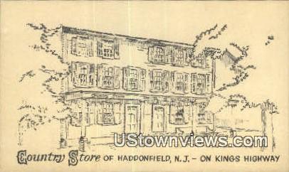 Country Store - Haddonfield, New Jersey NJ Postcard