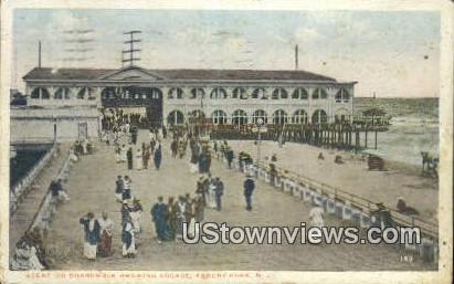 Boardwalk, Arcade - Asbury Park, New Jersey NJ Postcard