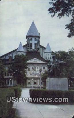 Venerable Old Auditorium - Ocean Grove, New Jersey NJ Postcard