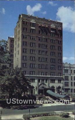 Hotel Suburban - East Orange, New Jersey NJ Postcard