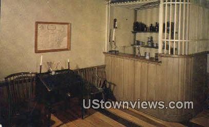 Tap Room, MCKonkey Ferry House - Washington Crossing State Park, New Jersey NJ Postcard
