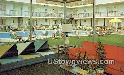 Orbit Motel - Asbury Park, New Jersey NJ Postcard