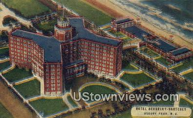 Hotel Berkeley Carteret - Asbury Park, New Jersey NJ Postcard