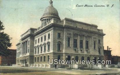 Court House - Camden, New Jersey NJ Postcard