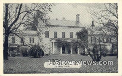Future Governor's Mansion - Princeton, New Jersey NJ Postcard