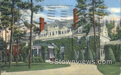Georgian Court College - Lakewood, New Jersey NJ Postcard