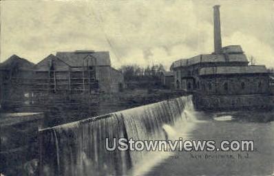 Weston's Mill, City Water Works - New Brunswick, New Jersey NJ Postcard
