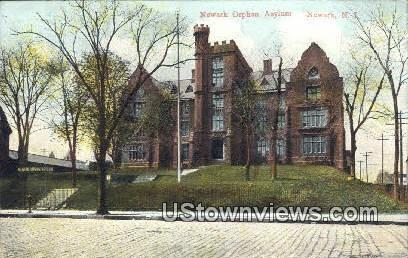 Newark Orphan Asylum - New Brunswick, New Jersey NJ Postcard