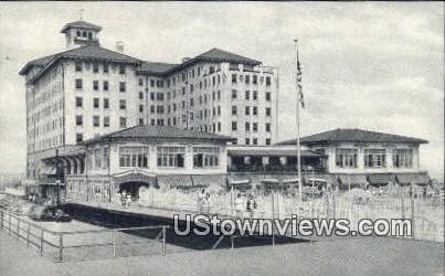 Flanders Hotel - Ocean City, New Jersey NJ Postcard