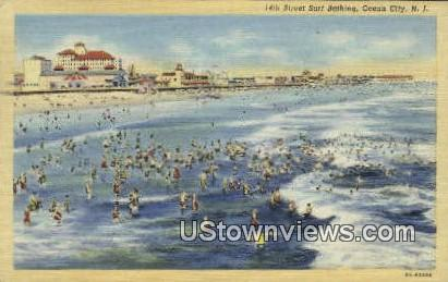14th Street - Ocean City, New Jersey NJ Postcard